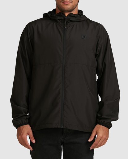 0 Transport Windbreaker Jacket Black 9581901 Billabong