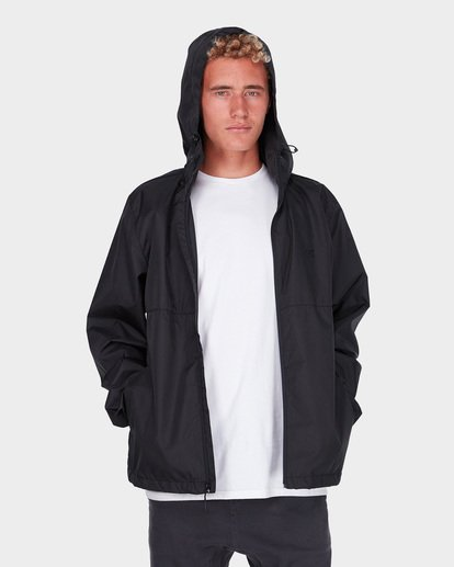 1 Transport Windbreaker Jacket Black 9581901 Billabong