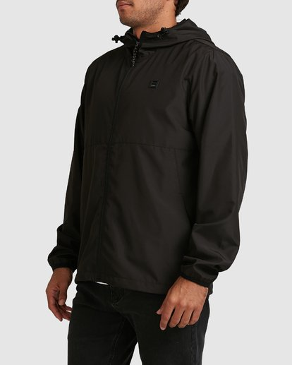 2 Transport Windbreaker Jacket Black 9581901 Billabong