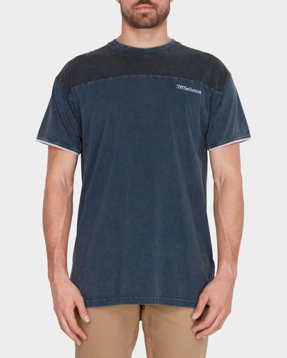 0 PANEL VAN TEE Blue 9582011 Billabong