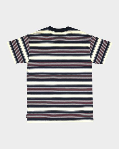 4 MIX UP STRIPE TEE Blue 9582013 Billabong
