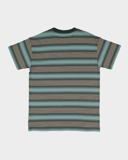 4 MIX UP STRIPE TEE Green 9582013 Billabong