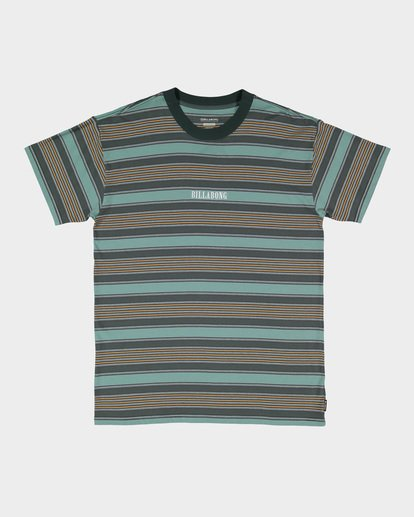 3 MIX UP STRIPE TEE Green 9582013 Billabong