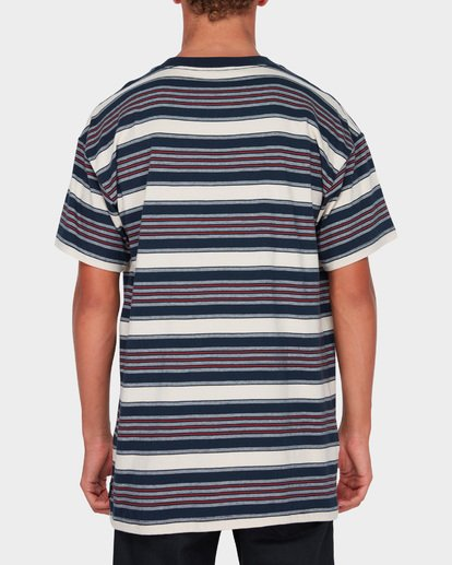 2 MIX UP STRIPE TEE Blue 9582013 Billabong