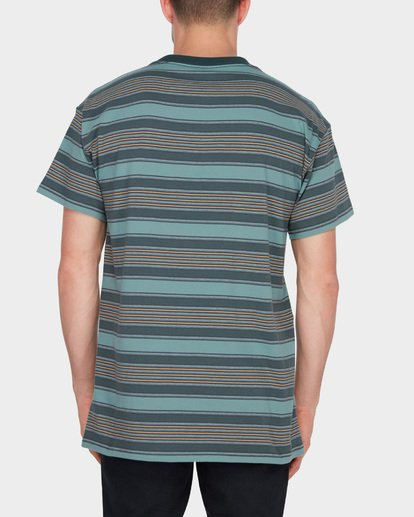 2 MIX UP STRIPE TEE Green 9582013 Billabong