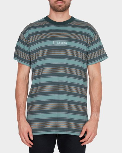 0 MIX UP STRIPE TEE Green 9582013 Billabong