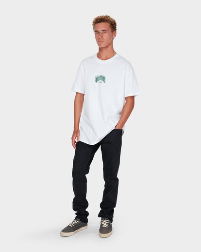 6 ARCHED TEE White 9582014 Billabong