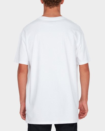 3 ARCHED TEE White 9582014 Billabong