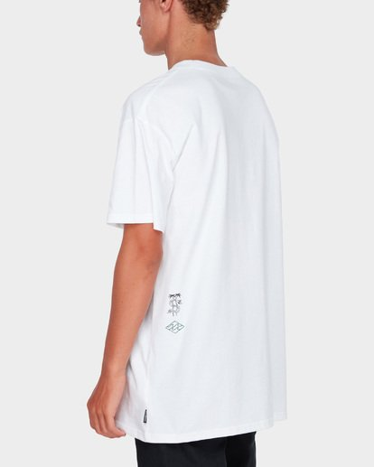 2 ARCHED TEE White 9582014 Billabong