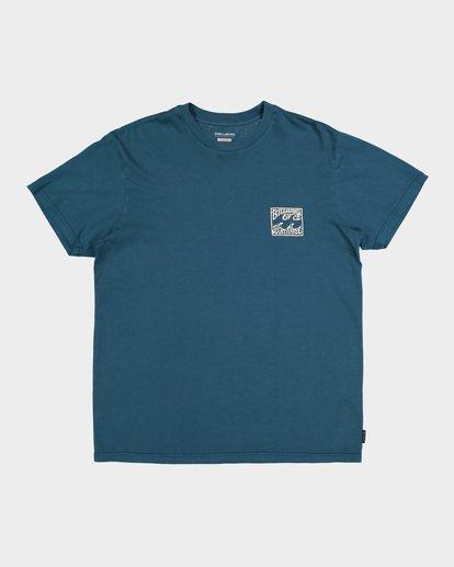3 CAPISTRANO TEE Blue 9582021 Billabong