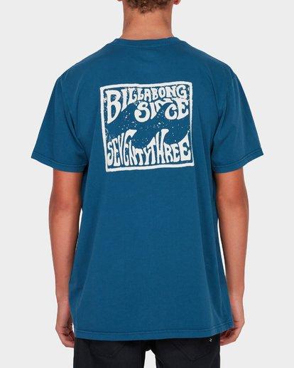 2 CAPISTRANO TEE Blue 9582021 Billabong