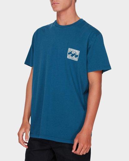 1 CAPISTRANO TEE Blue 9582021 Billabong