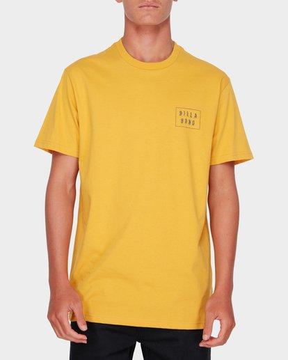 0 Warp Cut Tee Yellow 9582035 Billabong