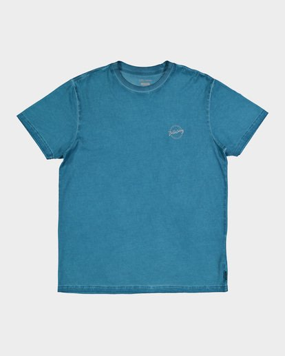 3 WASHED EIGHT SIX TEE Blue 9582037 Billabong