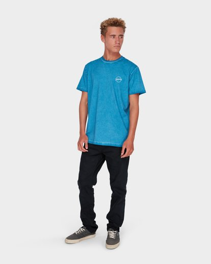 5 WASHED EIGHT SIX TEE Blue 9582037 Billabong