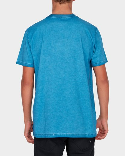 2 WASHED EIGHT SIX TEE Blue 9582037 Billabong