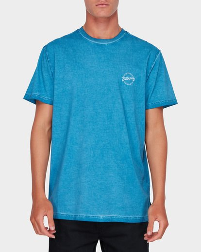 0 WASHED EIGHT SIX TEE Blue 9582037 Billabong