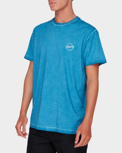 1 WASHED EIGHT SIX TEE Blue 9582037 Billabong
