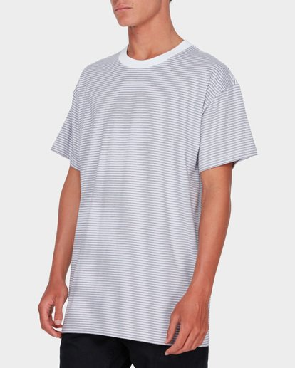 1 QUAD STRIPE TEE White 9582041 Billabong