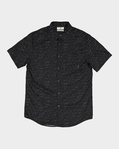 3 SUNDAYS MINI SHORT SLEEVE SHIRT Black 9582204 Billabong