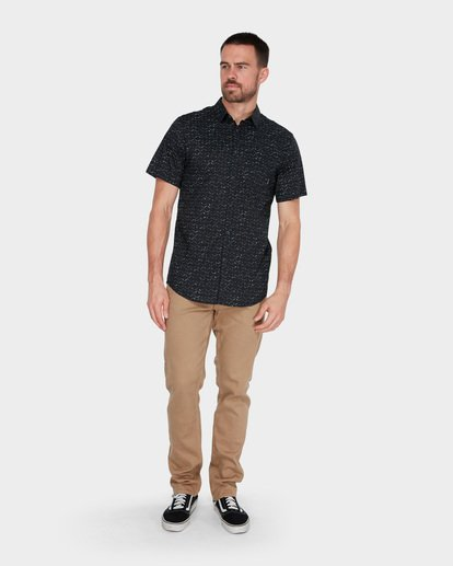 5 SUNDAYS MINI SHORT SLEEVE SHIRT Black 9582204 Billabong