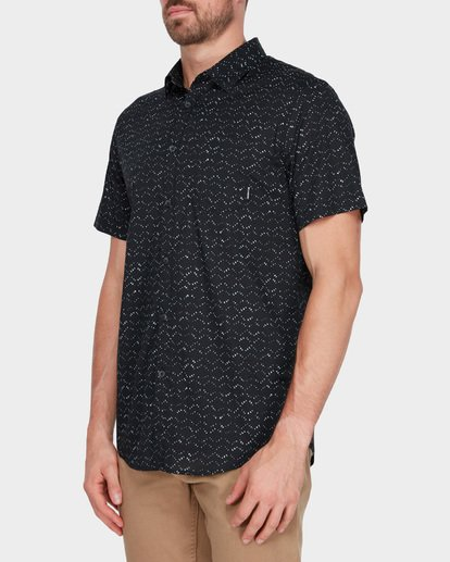 1 SUNDAYS MINI SHORT SLEEVE SHIRT Black 9582204 Billabong
