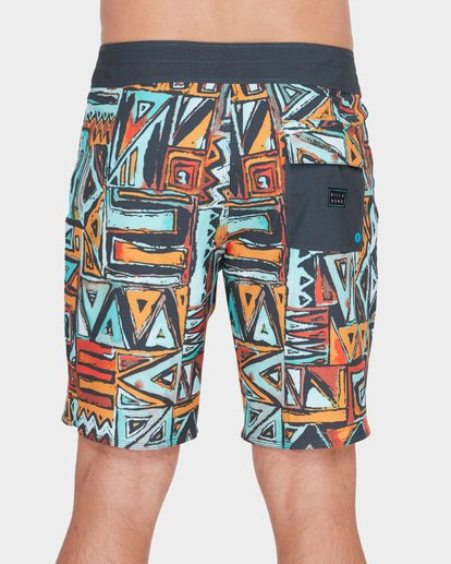 "4 SUNDAYS X 18"" BOARDSHORT Red 9582404 Billabong"