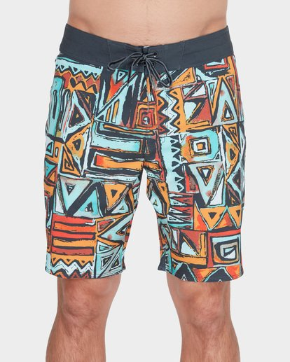 "2 SUNDAYS X 18"" BOARDSHORT Red 9582404 Billabong"