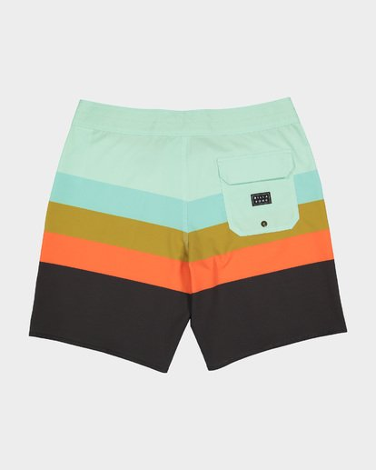 "1 MOMENTUM X 18"" BOARDSHORT Green 9582408 Billabong"