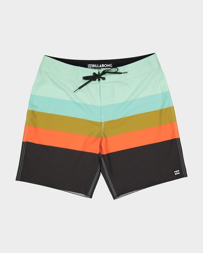 "0 MOMENTUM X 18"" BOARDSHORT Green 9582408 Billabong"