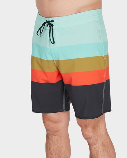 "3 MOMENTUM X 18"" BOARDSHORT Green 9582408 Billabong"