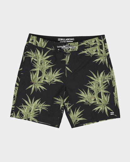 "0 SUNDAYS LO TIDE 18"" BOARDSHORT Green 9582412 Billabong"