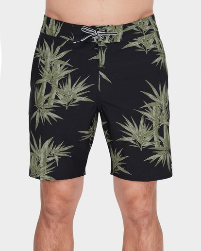 "2 SUNDAYS LO TIDE 18"" BOARDSHORT Green 9582412 Billabong"
