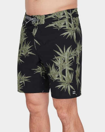 "3 SUNDAYS LO TIDE 18"" BOARDSHORT Green 9582412 Billabong"