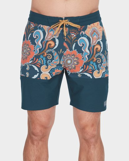 "2 SUNDAYS SPLIT LO TIDES 17.5"" BOARDSHORT Blue 9582416 Billabong"