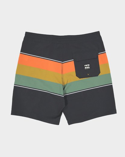 "1 MOMENTUM LO TIDE 18"" BOARDSHORT Black 9582417 Billabong"