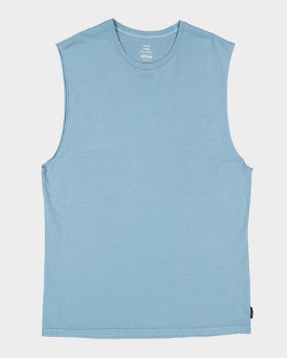 4 Premium Wave Wash Muscle Tank Blue 9582506 Billabong
