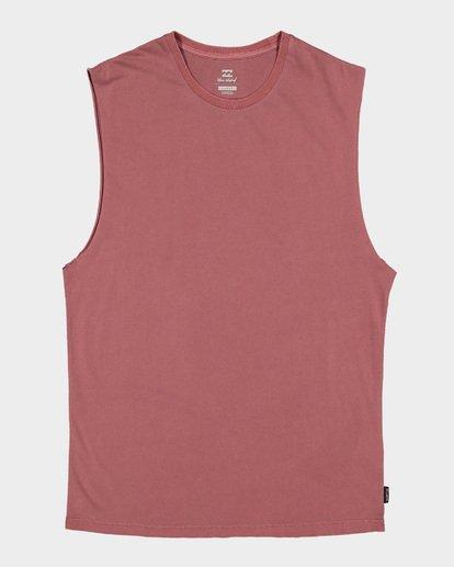 5 Premium Wave Wash Muscle Tank Pink 9582506 Billabong