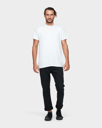 5 New Order Chino Roll Up Pants Black 9585303 Billabong