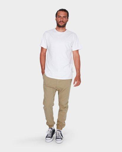 3 Addict Elastic Pants Pink 9585311 Billabong