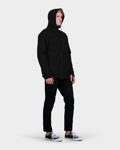 3 ADIV PROVINCE ZIP THRU HOOD Black 9585628 Billabong