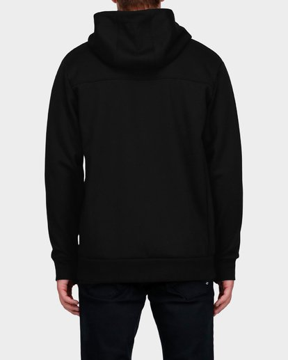 2 ADIV PROVINCE ZIP THRU HOOD Black 9585628 Billabong