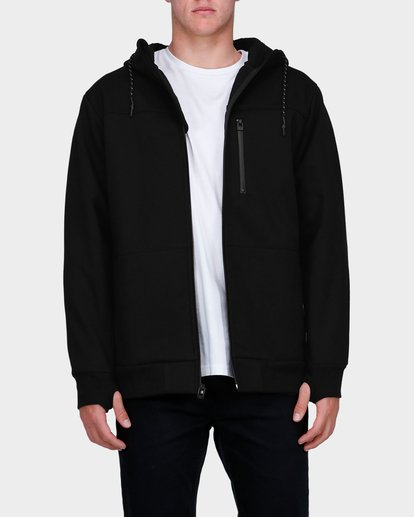 1 ADIV PROVINCE ZIP THRU HOOD Black 9585628 Billabong