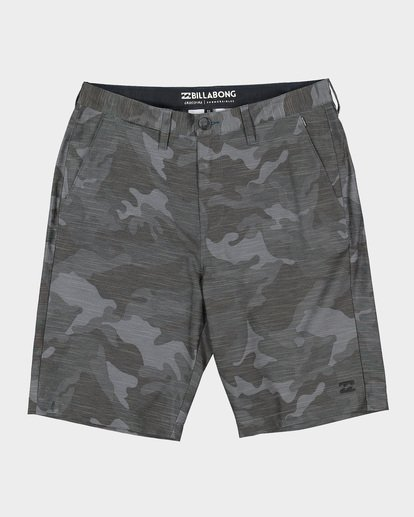 0 CROSSFIRE X SLUB WALKSHORTS Camo 9585709 Billabong