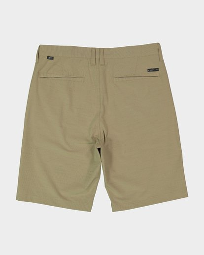 1 Crossfire X Slub Shorts Green 9585709 Billabong