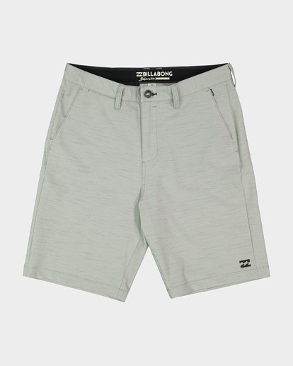0 CROSSFIRE X SLUB WALKSHORT Grey 9585709 Billabong