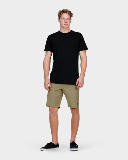 5 Crossfire X Slub Shorts Green 9585709 Billabong