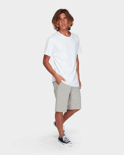 5 Crossfire X Slub Shorts Grey 9585709 Billabong