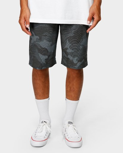 8 CROSSFIRE X SLUB WALKSHORTS Camo 9585709 Billabong