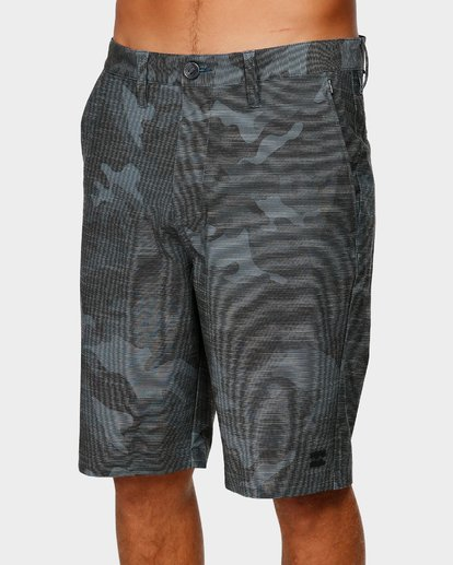 3 CROSSFIRE X SLUB WALKSHORTS Camo 9585709 Billabong